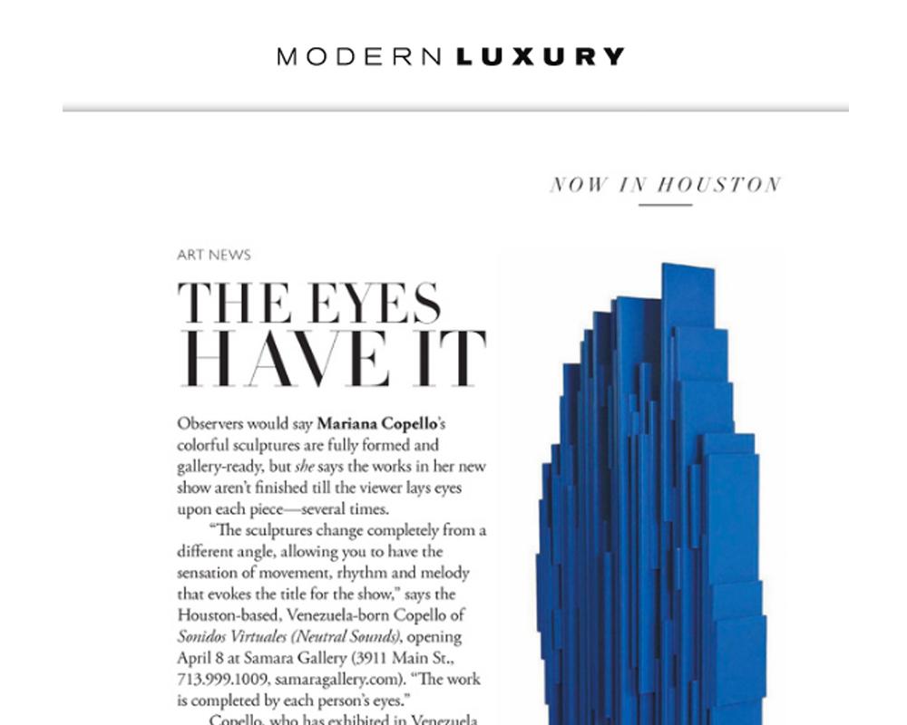 Houston Modern Luxury Magazine